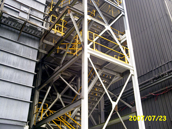 Power Plant Stair Tower